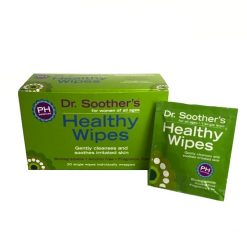 Dr. Soother's Healthy Wipes - 20 Count
